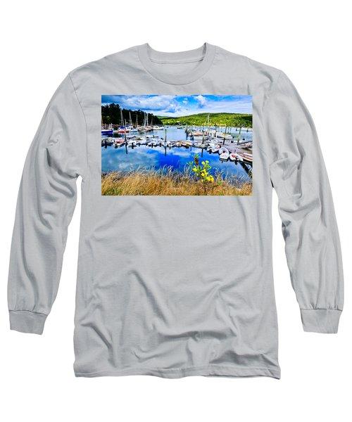 Maine Harbor Long Sleeve T-Shirt