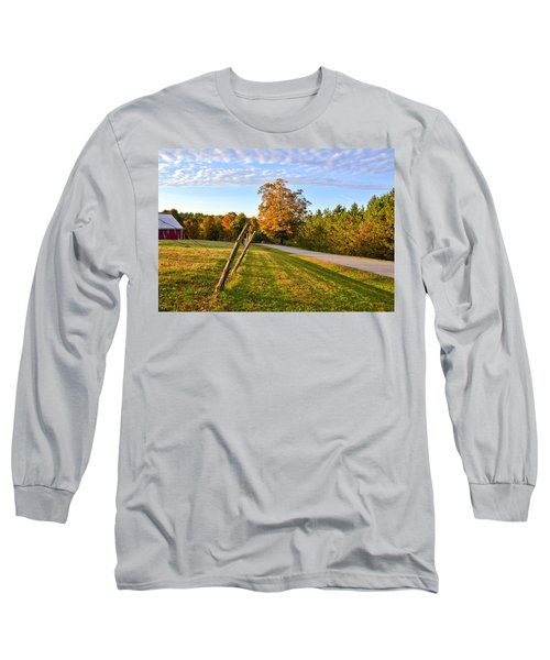 Maine Morning Long Sleeve T-Shirt