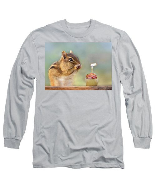 Make A Wish Long Sleeve T-Shirt by Lori Deiter