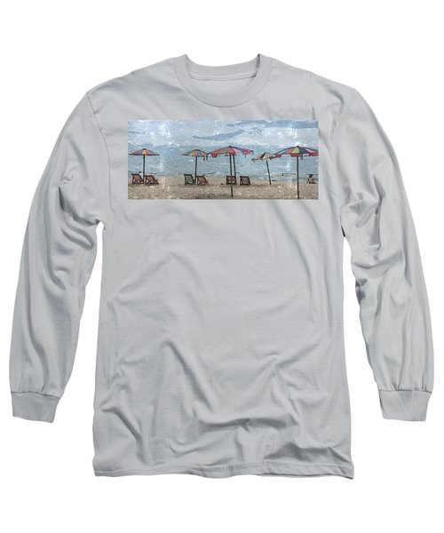 Malazy Day At The Beach Long Sleeve T-Shirt