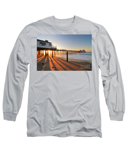 Malibu Pier Sunburst Long Sleeve T-Shirt