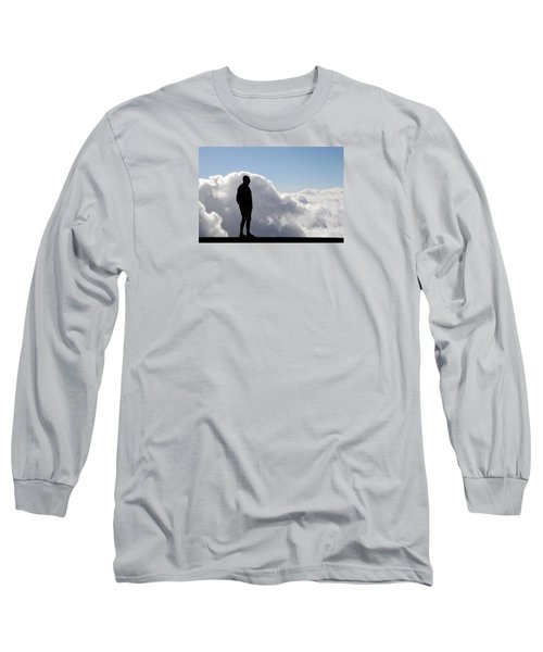 Man In The Clouds Long Sleeve T-Shirt