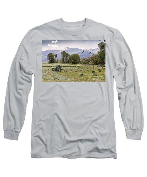 Mancos Colorado Landscape Long Sleeve T-Shirt