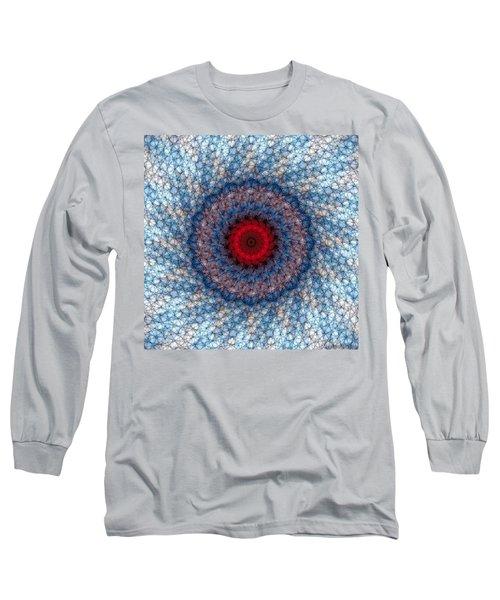Long Sleeve T-Shirt featuring the digital art Mandala 3 by Terry Reynoldson