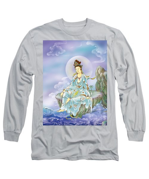 Many Treasures Avalokitesvara  Long Sleeve T-Shirt