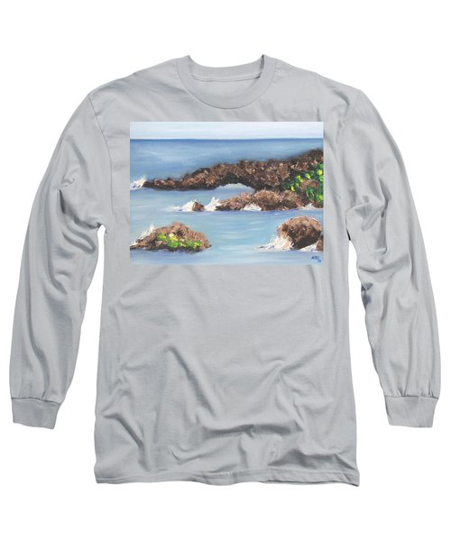 Maui Rock Bridge Long Sleeve T-Shirt