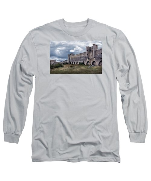 Medieval City Wall Defence Long Sleeve T-Shirt