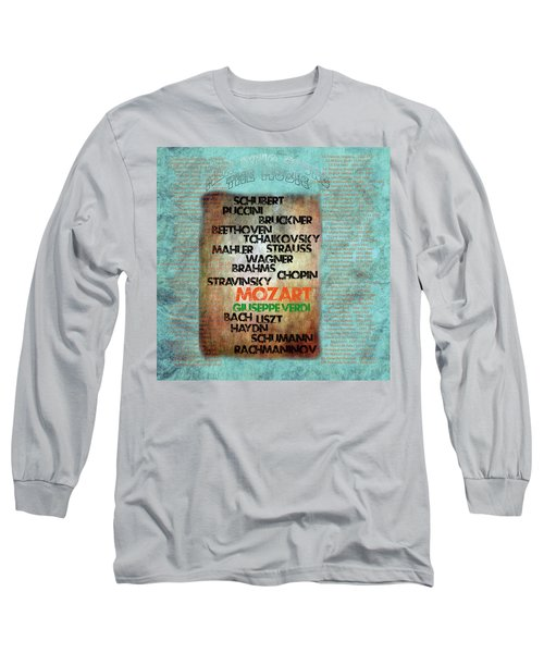 Men Who Found The Music Long Sleeve T-Shirt
