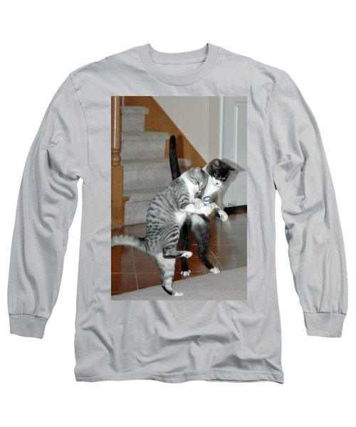 Meow Vows Long Sleeve T-Shirt