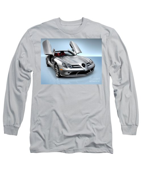 Mercedes Benz Slr Mclaren Long Sleeve T-Shirt