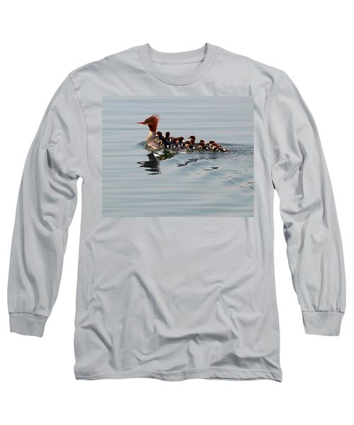 Punk Duck And Posse Long Sleeve T-Shirt