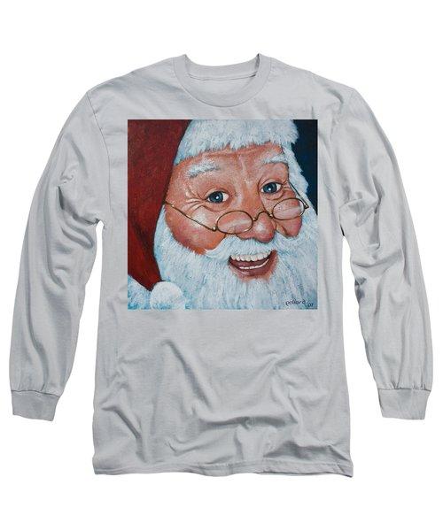 Merry Santa Long Sleeve T-Shirt