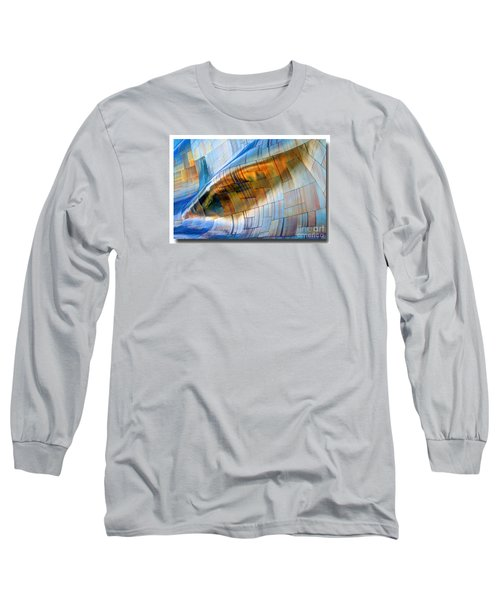 Long Sleeve T-Shirt featuring the photograph Metal Wave by Chris Anderson