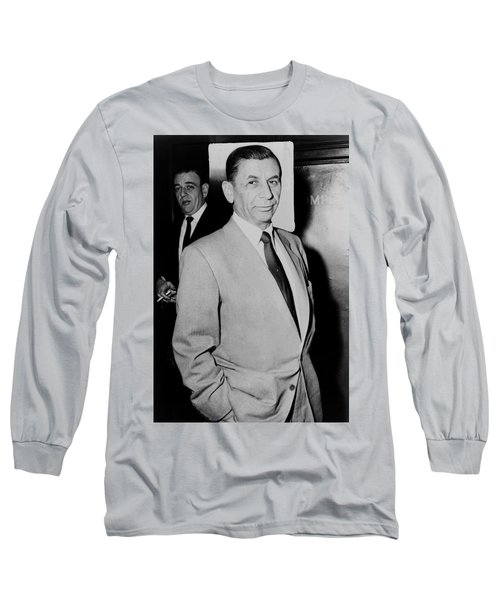 Meyer Lansky - The Mob's Accountant 1957 Long Sleeve T-Shirt