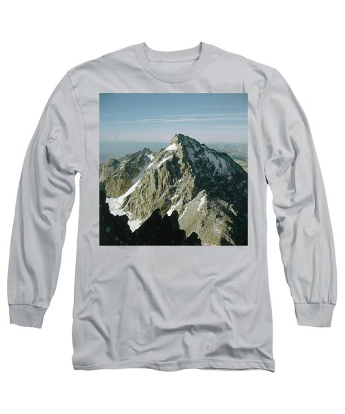 T-209207-middle Teton From Grand Teton Long Sleeve T-Shirt