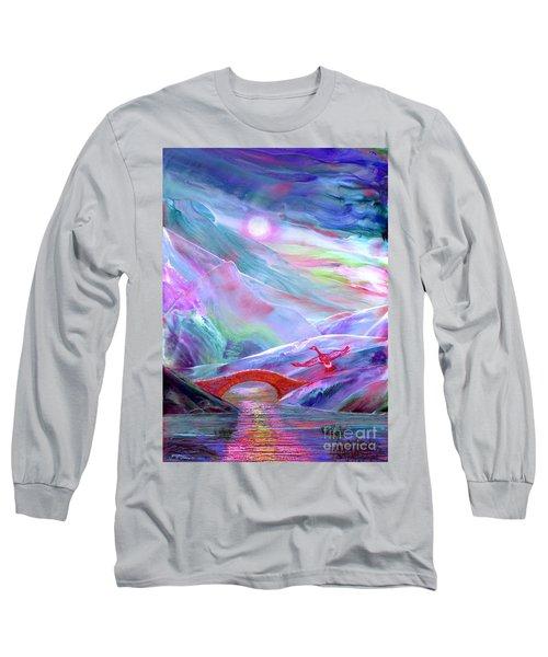 Midnight Silence, Flying Goose Long Sleeve T-Shirt
