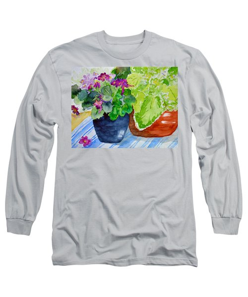 Mimi's Violets Long Sleeve T-Shirt