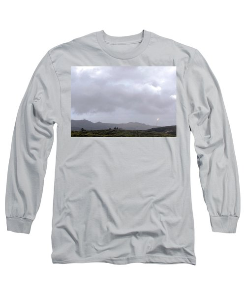 Long Sleeve T-Shirt featuring the photograph Minotaur Iv Lite Launch by Science Source