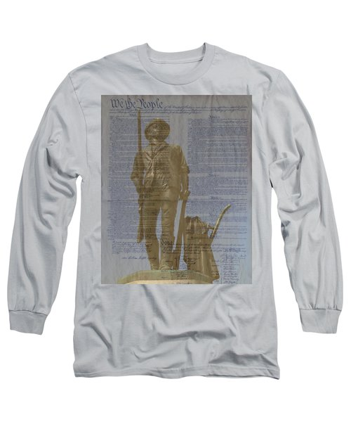 Minuteman Constitution Long Sleeve T-Shirt