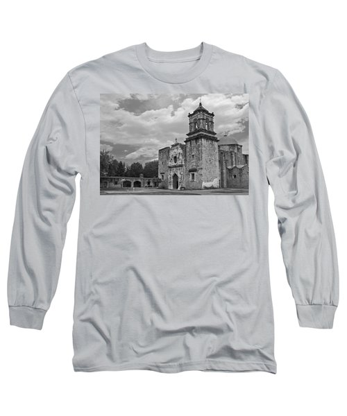 Mission San Jose Bw Long Sleeve T-Shirt