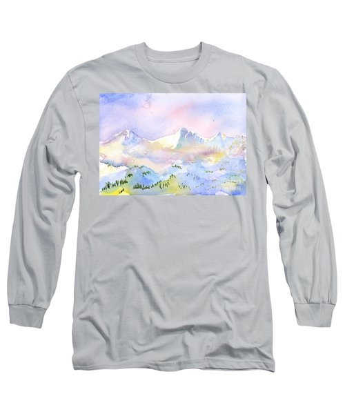Misty Mountain Long Sleeve T-Shirt