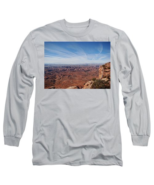 Moab  Long Sleeve T-Shirt by Cathy Anderson