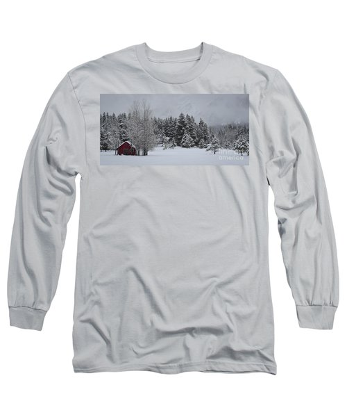 Montana Morning Long Sleeve T-Shirt by Diane Bohna