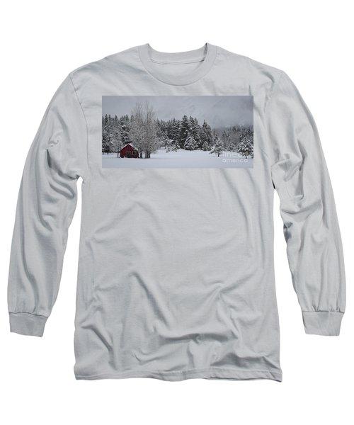Montana Morning Long Sleeve T-Shirt