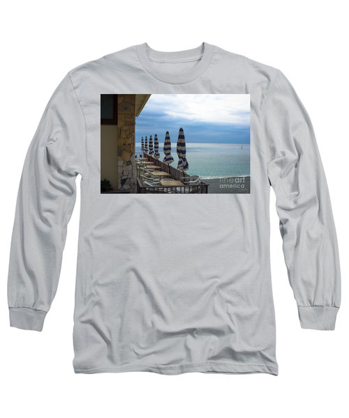 Monterosso Outdoor Cafe Long Sleeve T-Shirt
