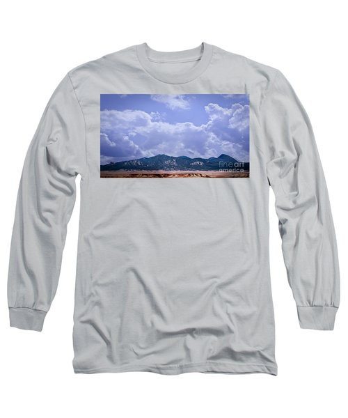 Montezuma County Landmark Long Sleeve T-Shirt by Janice Rae Pariza