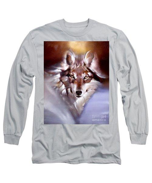 Moon Wolf Long Sleeve T-Shirt