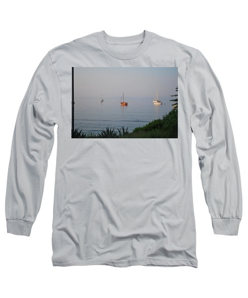 Long Sleeve T-Shirt featuring the photograph Morning by George Katechis