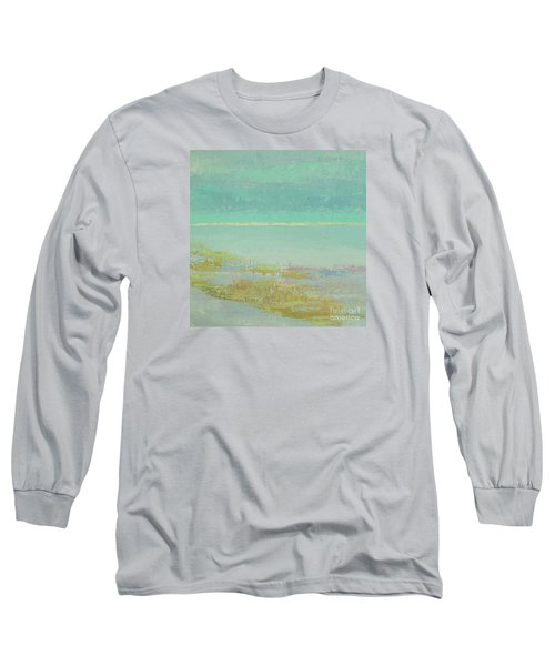 Morning Low Tide Long Sleeve T-Shirt by Gail Kent