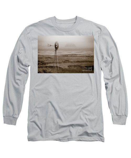 Morro Bay Windmill Long Sleeve T-Shirt