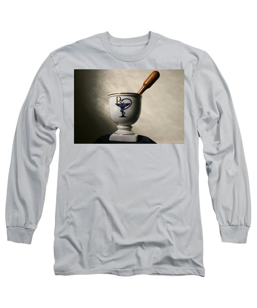 Mortar And Pestle Two Long Sleeve T-Shirt by Kristin Elmquist