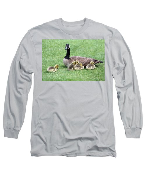 Mother And Young Long Sleeve T-Shirt