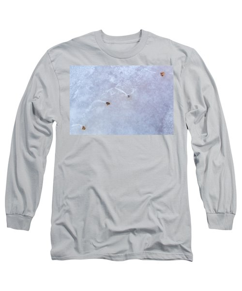Moving Through Ice Long Sleeve T-Shirt