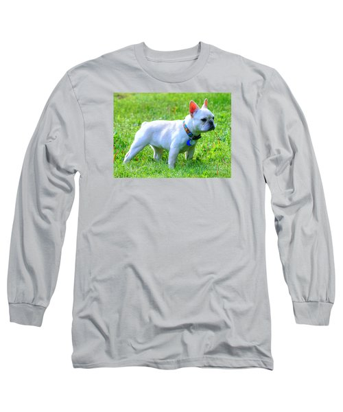 Ms. Quiggly - French Bulldog Long Sleeve T-Shirt