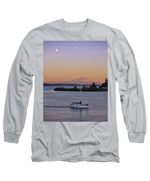 Mt. Rainier Afterglow Long Sleeve T-Shirt