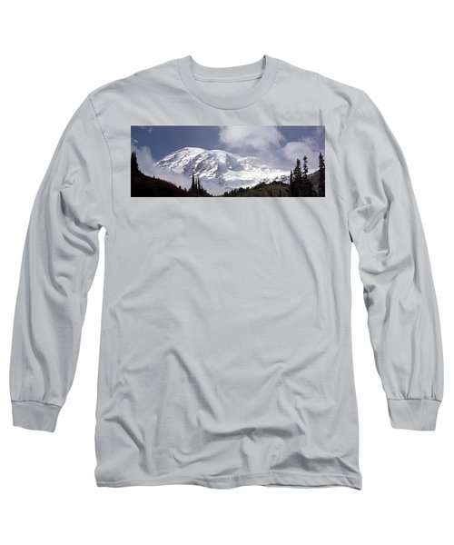 Long Sleeve T-Shirt featuring the photograph Mt Rainier  by Greg Reed