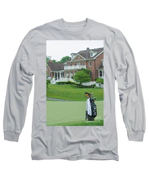 D12w-289 Golf Bag At Muirfield Village Long Sleeve T-Shirt