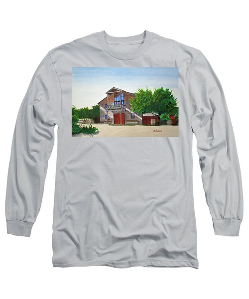 Murrietas Well Winery Long Sleeve T-Shirt by Mike Robles