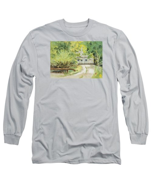 My Secret Hiding Place Long Sleeve T-Shirt by Lee Beuther
