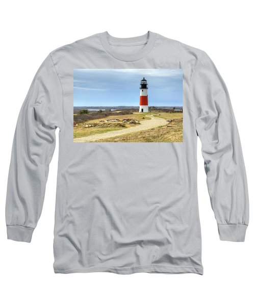Nantucket's Sankaty Head Light Long Sleeve T-Shirt