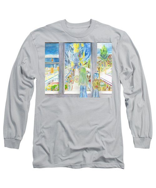 Nastros Long Sleeve T-Shirt by Shawn Dall