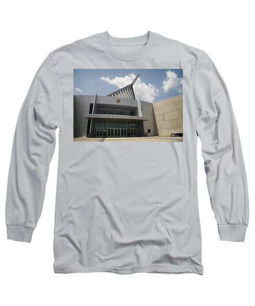 National Museum Of The Marine Corps Long Sleeve T-Shirt by Carol Lynn Coronios