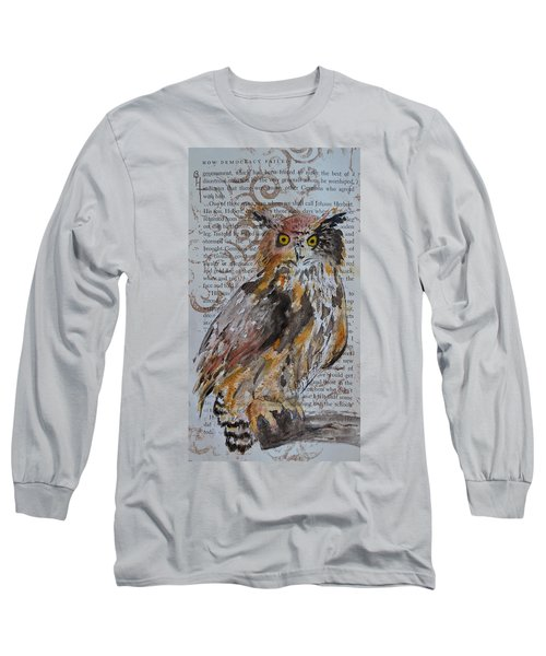 Nature Prevails Original Version Long Sleeve T-Shirt