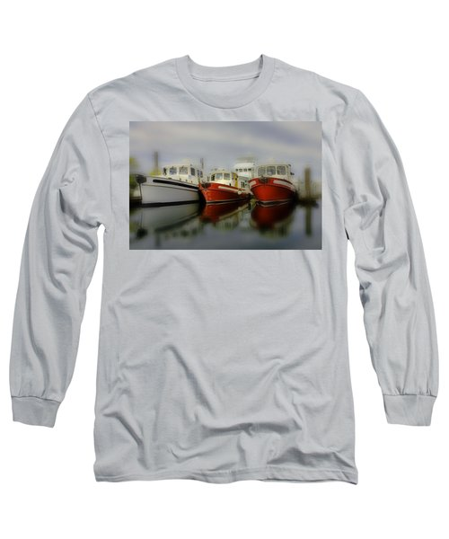 Long Sleeve T-Shirt featuring the photograph Nautical by Sonya Lang