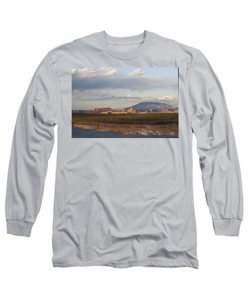 Navajo Mountain View Long Sleeve T-Shirt