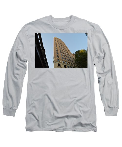 Long Sleeve T-Shirt featuring the photograph Navarro St Illusion by Shawn Marlow